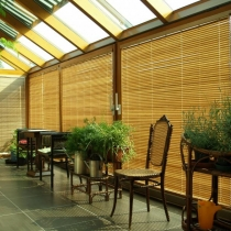 bambusová-žaluzie