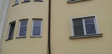 Oprava a nátěr fasády a renovace soklů